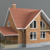 Western Classic Brick House