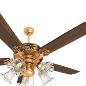 Royal Classic Ceiling Fan Light