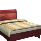 Furniture Classic Style Carved Bed