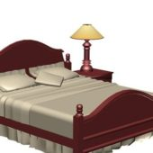 Furniture Classic Wood Bed Sets