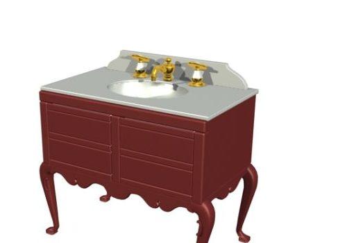 Classical Furniture Bathroom Vanity