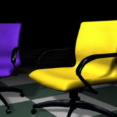 Furniture Colorful Conference Chairs