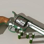 Colt 45 Revolver Gun