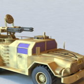 Military Combat Tactical Vehicle