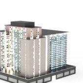 Architecture Commercial Complex Building
