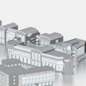 Architecture Commercial Retail Building
