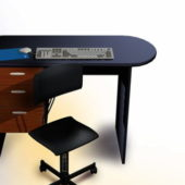 Furniture Computer Desk With Chair