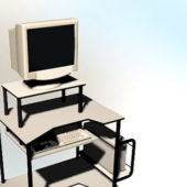 Computer Desk With Pc