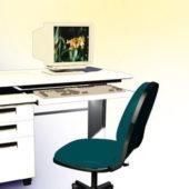 Computer Desk Furniture With Computer Inside