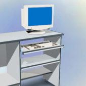 Computer Desk Furniture With Desktop Computer