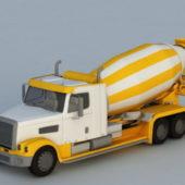 Concrete Mixing Heavy Duty Truck