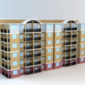 Apartment Building Block