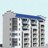 Contemporary Modern Apartment Building