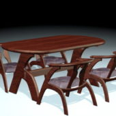 Wooden Dining Room Table Chair