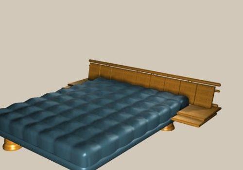 Contemporary Furniture Design Wood Platform Bed