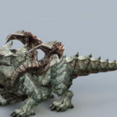 Cool Dragon Monster Animal