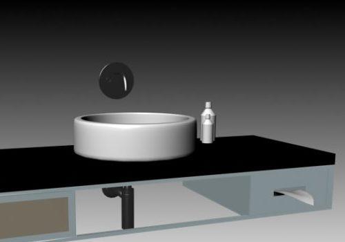Countertop Washbowl Sanitary