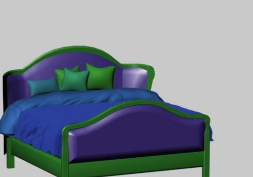 Furniture Countryside Style Bed