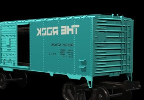 Vehicle Covered Goods Wagon