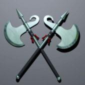 Weapon Battle Axes