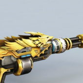 Crossfire Gold Gaming Weapon