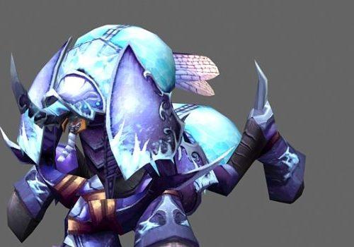 Crypt Lord Anubarak Game Character