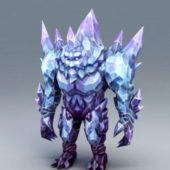Character Crystal Golem
