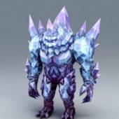 Character Crystal Golem