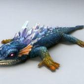 Animal Crystal Lizard