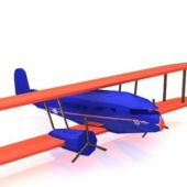 Vintage Curtiss Condor Airplane