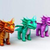 Cute Animal Anime Dragons