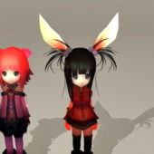 Cute Character Anime Girls