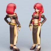 Anime Character Cute Woman