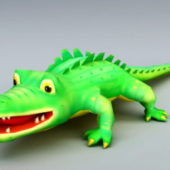 Cartoon Crocodile Cute Style