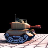 Small Cartoon Tank