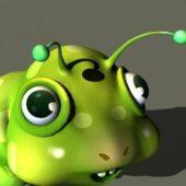 Cartoon Worm Animal Animation