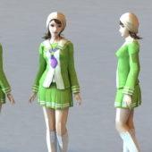 Character Cute Skirt Girl