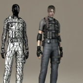 Special Agent Soldier Character