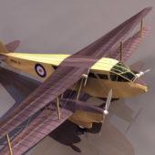 Dh.89 Biplane Passenger Airliner