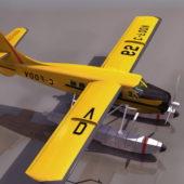 Dhc-3 Otter Vintage Transport Aircraft