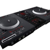 Dj Mixer Turntable Device