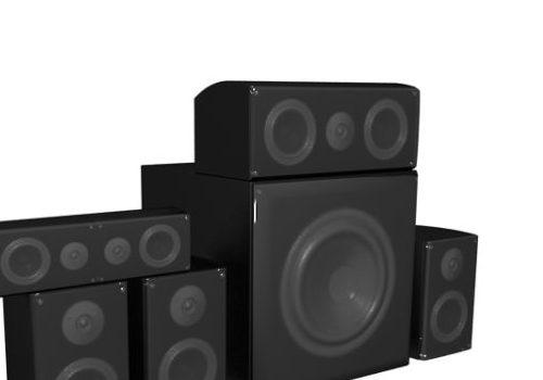 Dj Speakers Electronic System