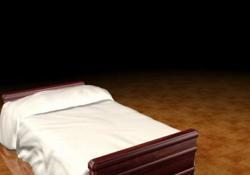 Furniture Dark Wood Bed