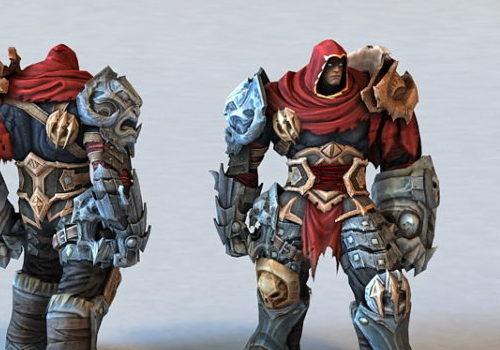Character Darkside Warrior Concept