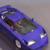 Sport Dauer Eb110 Racing Car