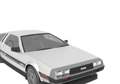 Delorean Dmc Coupe Car