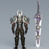 Death Knight Warrior Character