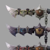 Deathwing Swords Weapon Collection