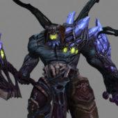 Demons Monster Game Character