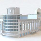 Commercial Department Store Building